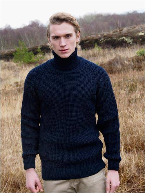 SUBMARINER RIB ROLL NECK SWEATER