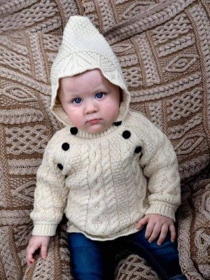 BABY HOODED SWEATER HD4558