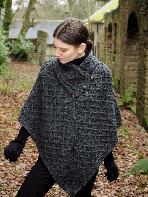 Luxurious super soft poncho