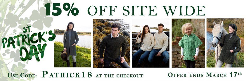St Patrick 18 website
